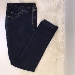 TORRID 12R Stretch Skinny Washed Blue Denim Jeans